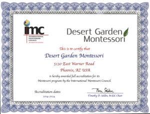 IMC Accredited