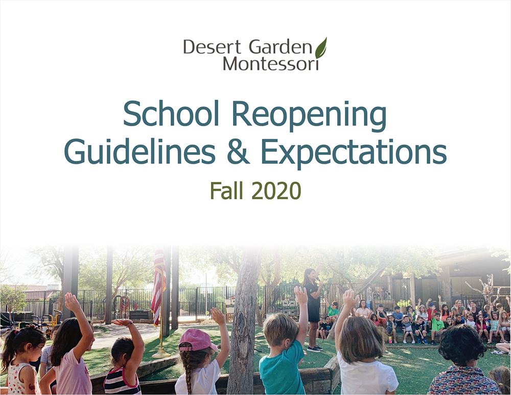 School Reopening Guidelines